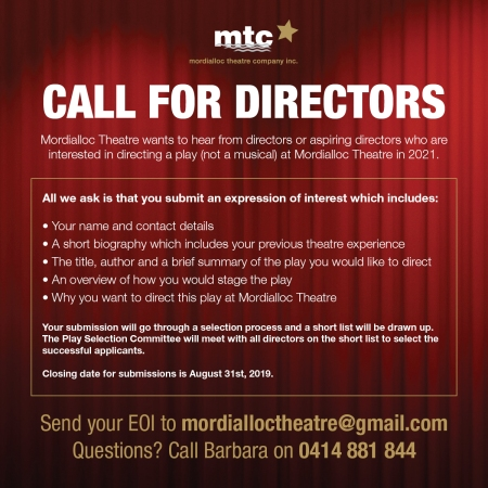 Call for directors